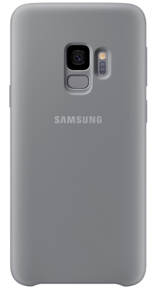 SAMSUNG GALAXY S9 SILICON COVER (EF-PG960TJEGRU) GREY